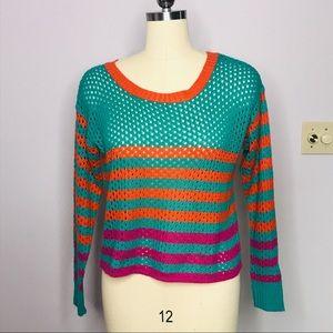Flying Tomato x Nordstrom Rack Crop Sweater